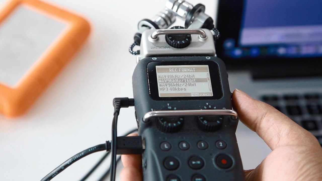 Using a H5 Zoom recorder with Sennheiser lav mic