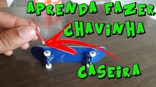 COMO FAZER CHAVINHA CASEIRA PARA FINGERBOARD