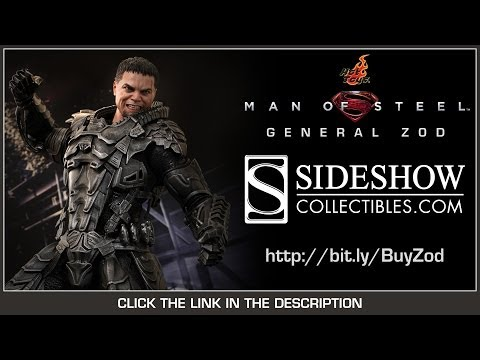 Man Of Steel Hot Toys General Zod Review Movie Masterpiece 1/6 Scale Collectible Figure Review