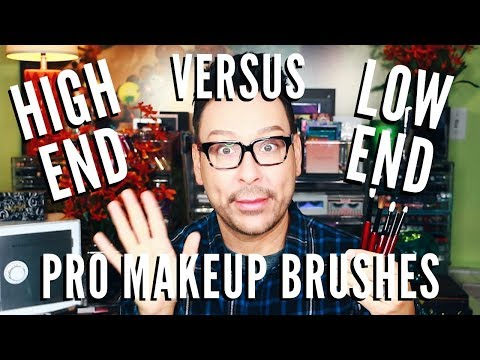 New Affordable & High End Pro Makeup Brushes First Impressions | mathias4makeup