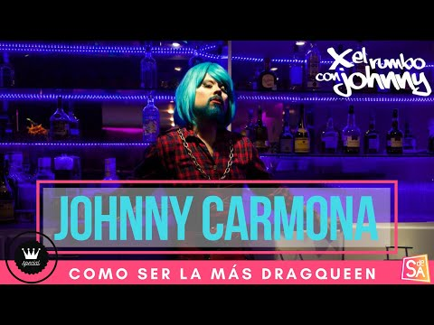 Tomando clases de DragQueen I Johnny Carmona