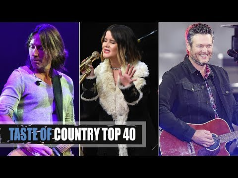 Top 40 Country Songs of 2017 Playlist