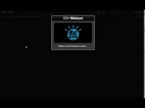 IBM Watson for Oncology Demo