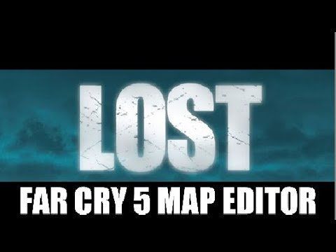 LOST (TV SERIES): Recreated Island in Far Cry 5 Map Editor!