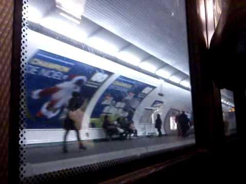 [Métro ligne 2] Toute la ligne de Porte Dauphine à Nation en MF01