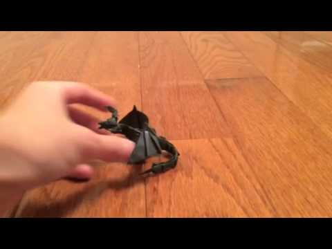 Origami Darkness Dragon 20 NOT TUTORIAL