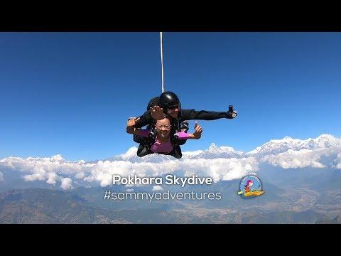 Sammy Adventures - Pokhara Skydive  Skydiving in Nepal  Season 2 - Episode 4