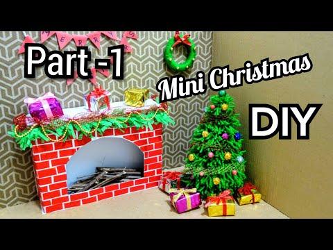 DIY Mini Christmas Decorations | Tiny Holiday Decor Ideas | DIY Miniature Christmas Doll House