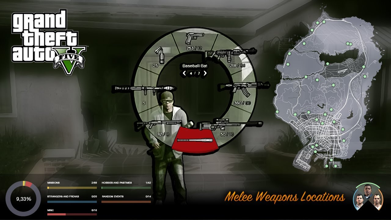 Weapons Locations - Guides & Strategies - GTAForums