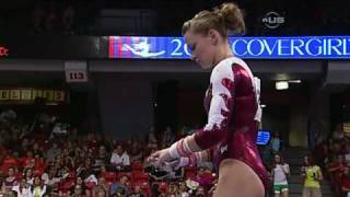 Bridget Sloan on Uneven bars in Chicago - from Universal Sports