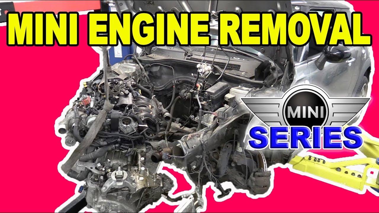 Mini Cooper Engine Removal (R56/N14)