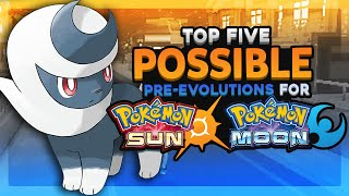 Top 5 Possible Pre-Evolutions For Pokemon Sun and Moon (Feat. Speqtor)