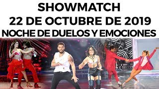 showmatch-programa-22-10-19-noche-de-duelos-y-emociones-en-sperbailando