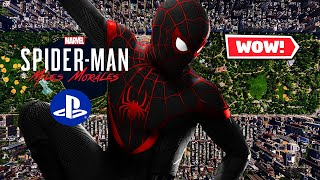 The Map Size Is... GREAT! | Spider Man PS5: Miles Morales