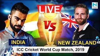 LIVE: India VS Newzealand Live   IND VS NZ Live Score   World Cup 2019   NYOOOZ