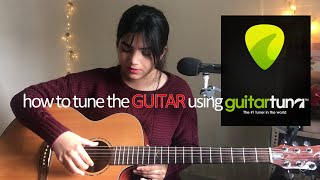 How to Tune The Guitar using Guitar Tuna App on Mobile Phone - Basic Guitar Lesson #4 for Beginners screenshot 3