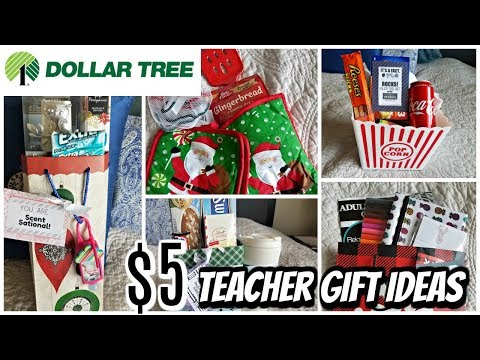 5 LAST MINUTE TEACHER GIFT IDEAS | $5 GIFTS AT DOLLAR TREE