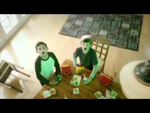 McDonald's  Ben 10 Happy Meal Toy Commercial with Felix Avitia
