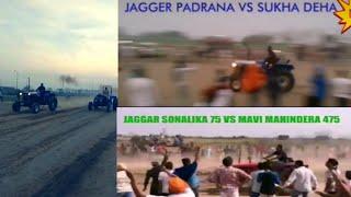 Jaggar padrana jugad fitt vale vs Mahindra 475 vs Farmtrack 45 race