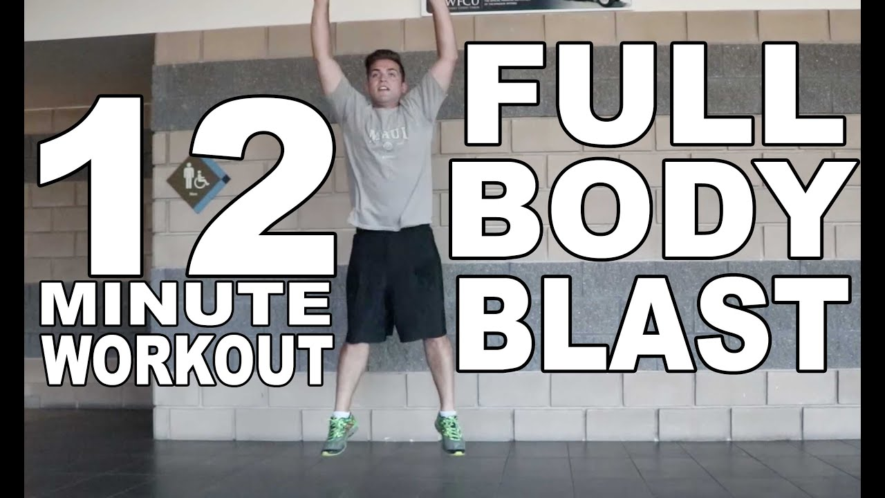 Crazy 12 Minute Full Body Blast With No Equipment