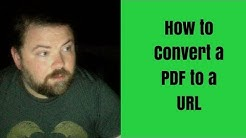 How to Convert a PDF Doc to a URL Using Google Drive