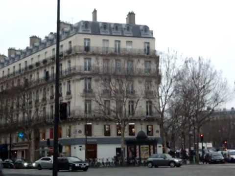 paris centre ville a l 39 hiver youtube. Black Bedroom Furniture Sets. Home Design Ideas