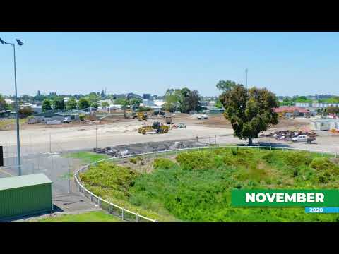 Community and Recreation Hub - Construction Time-lapse  November 2020
