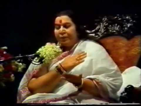 Shri Mataji Self Realization (Kundalini Atma) Kolkata West Bengal 1986 (Calcutta) Sahaja Yoga Hindi