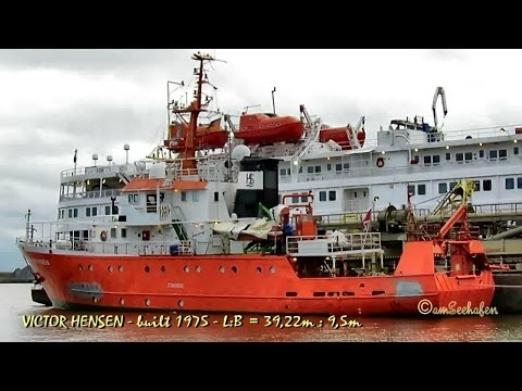 research survey vessel VICTOR HENSEN 9HYZ7 IMO 7360655 Emden