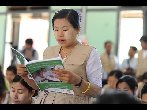 VIDEO: UNFPA attends enumerator and supervisor training in Ayeyarwady