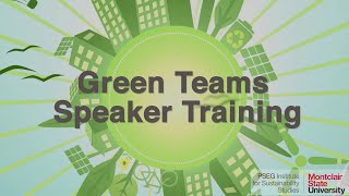 Green Teams Speaker Training Final