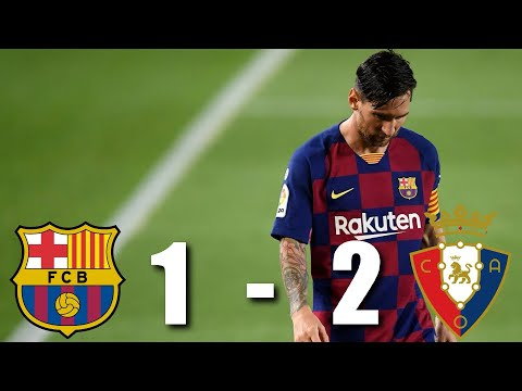 Barcelona vs Osasuna [1-2], La Liga, 2020 - MATCH REVIEW from YouTube · Duration:  4 minutes 54 seconds