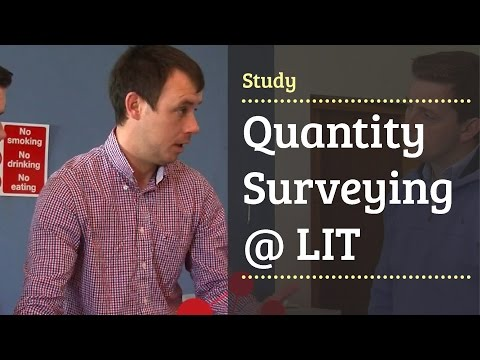 Quantity Surveying LC243 - Limerick Institute of Technology - LIT