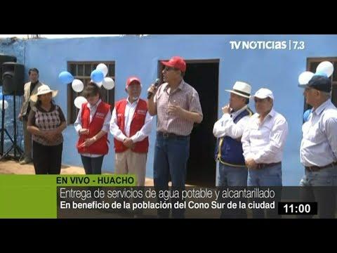 Mandatario Vizcarra supervisa funcionamiento de servicios de agua potable en Huacho