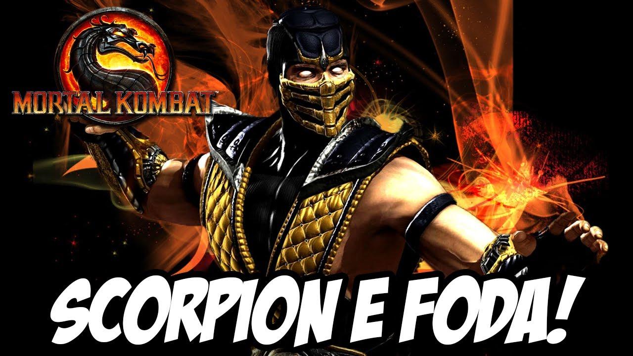 Mortal Kombat 9 - SCORPION É FODA!! - YouTube