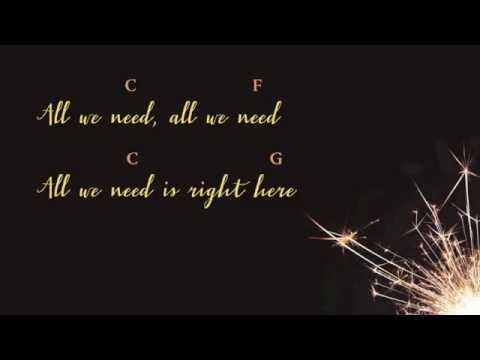 Right Here by Gathering Sparks / Sam Turton (lyric & chord video ...
