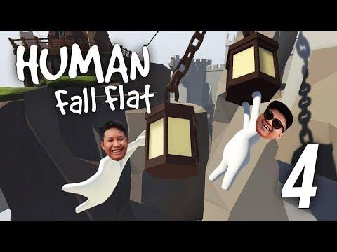 SAKIT PERUT AKU GELAK! - Human Fall Flat (Malaysia) w/ NABIL ''Part 4''