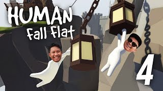 Video SAKIT PERUT AKU GELAK! - Human Fall Flat (Malaysia) w/ NABIL ''Part 4'' download MP3, 3GP, MP4, WEBM, AVI, FLV Oktober 2018