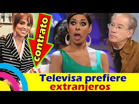 Actriz Colombiana FIRMA EXCLUSIVIDAD CON TELEVISA y los MEXICANOS son DESPEDIDOS