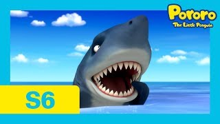 Pororo Season 6 | #07 The Adventures on Summer Island 1 [With CC] | Watch out for the shark attack!
