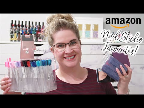 Favourite Amazon Products For The Nail Studio! | Organization, Nail Art, Video Editing And MORE!