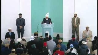 Friday Sermon: 26th November 2010 - Part 1 (Urdu)