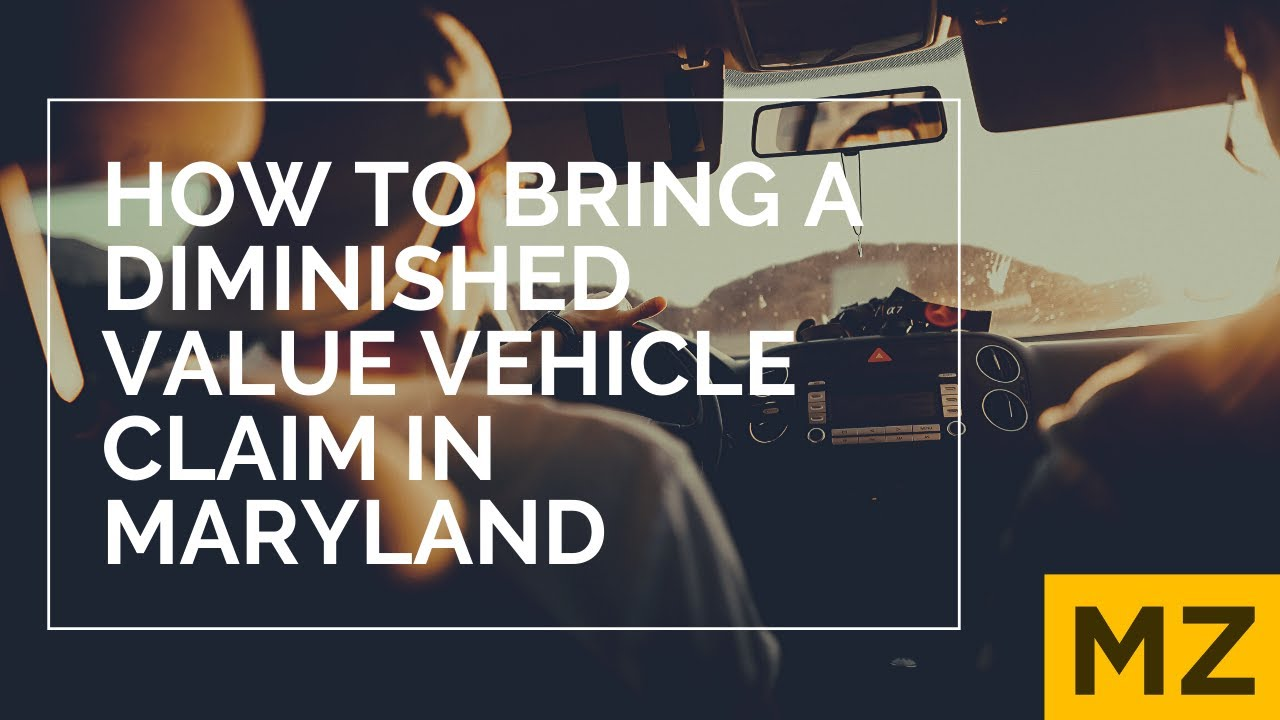 Free Online Diminished Value Calculator >> Maryland Diminished Value Accident Claims Baltimore Car