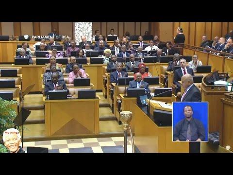 Pravin Gordhan  Warns Corrupt Officials And Jacob Zuma Applauds.