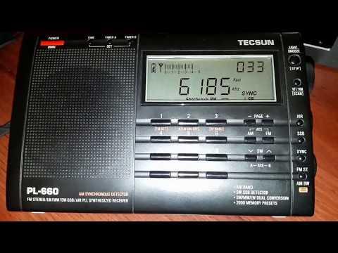 Radio Educación 6185 Khz (1Kw) Tecsun PL-660 desde Mendoza (ARG)