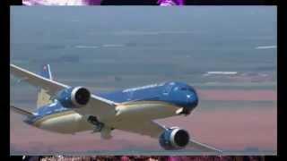 Boeing's Dreamliner Do Tricks That Would Make You Sick - Дримлайнер Трюк во Франции