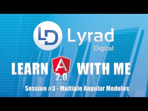 Angular 2 (Angular 4)  - Multiple Angular Modules