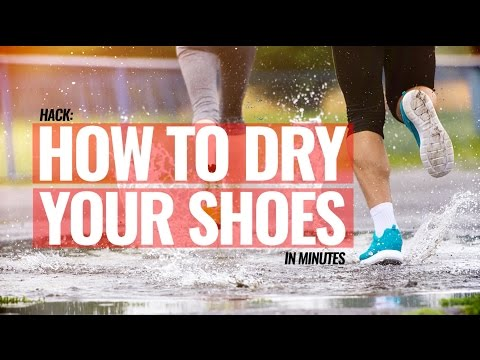 Hack: Dry Your Shoes In Minutes | Basics