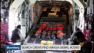AirAsia Crash: A Bird's-Eye Account of Recovery Mission