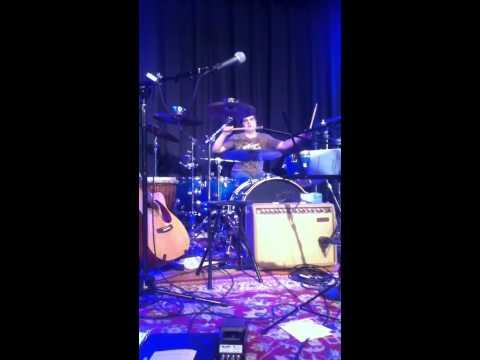 Zac Austin drum solo